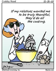 Maxine on Thanksgiving...