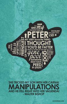 Fringe Quote Poster #fringe #walter #bishop