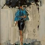 DANCING IN THE RAIN - Kathryn Trotter.