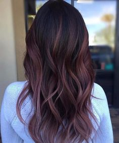 Maroon hair color ideas Maroon hair color ideas Related posts: Hottest Ombre Hair Color Ideas for 2019 – (S… 45 Hair Color Ideas and Tips for Dyeing, Maintaining Your beautiful Hair, 72 ideas for brunette hair colors in 2019 Black Hair With Highlights, Hair Color For Black Hair, Hair Highlights, Hair Colour, Subtle Purple Hair, Purple Highlights, Plum Hair, Burgundy Hair, Purple Balayage