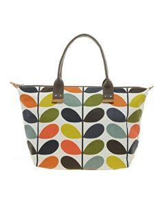 Image 1 ofOrla Kiely Easy Zip Tote Etc Shopper