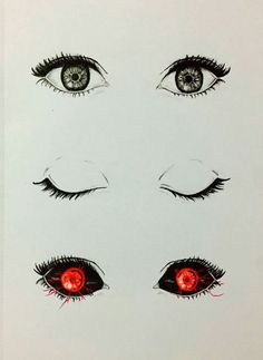 Eyes from Tokyo ghoul