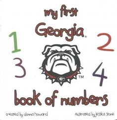 My First Georgia Book of Numbers