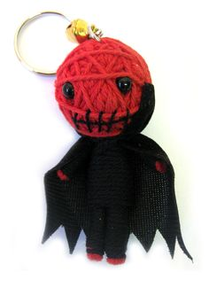 Voodoo Doll Keyring Drackula | Gothic Clothing | Emo clothing | Alternative clothing | Punk clothing - Chaotic Clothing