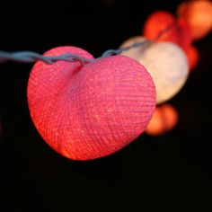3M Sweet Cotton Heart String Light-9.92 and Free Shipping