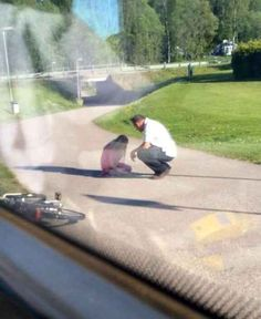The bus driver who stopped his bus, which was full of passengers, to comfort a bullied girl he saw crying on the footpath.
