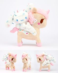 Sanrio Characters Holiday 2013 Collection: Cinnamoroll x Cactus Friend x Dolce Plush