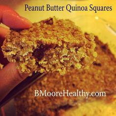 Peanut Butter Quinoa Squares