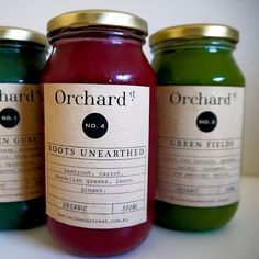 Organic Cold Pressed Juices @ Orchard St - Bronte