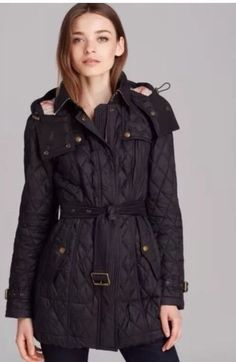 Burberry Brit Finsbridge Long Quilted Coat | Bloomingdale's ... : burberry quilted belted jacket - Adamdwight.com