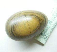 Antique Sewing Tool Sweet Wood Darning Egg by thefaeriecupboard
