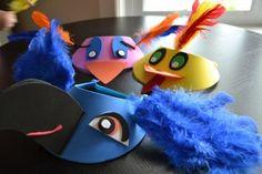 Bird visors!