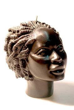 African beauty candle - Ref 8033