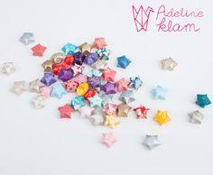 Etoiles en origami // Crédit photo : Emilie Guelpa
