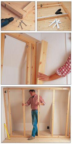 Costruire Armadio A Muro In Legno.59 Fantastiche Immagini Su Armadi A Muro Diy Ideas For Home Bath
