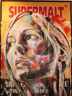 Graffiti Portraits by David Walker - Art | Design | Music