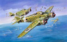 Pinturas Aviación II Guerra Mundial : Photo