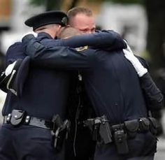 This is one of the hardest posts I could ever think of .. These were the men who had to see those children who were killed early this morning in Newtown, CT ..   And had to notify all the parents along with school officials their innocent children were dead .. My thoughts & prayers go out to every person who is effected by one of the worst tragedies in American history .. May God Bless them all ..