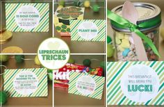 GroopDealz | Printable Leprechaun Tricks Set a special treat from the other side of the rainbow!