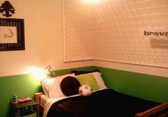 her soccer room