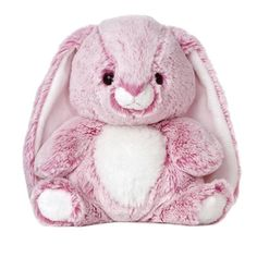 "10"" Aurora Plush Bunny Pink Candy Cuddle Easter Rabbit Stuffed Animal Toy NEW #Aurora"