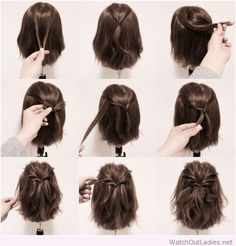 How to get a messy hairstyle