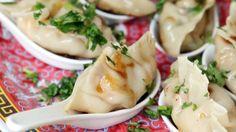 Shrimp and Mango Dumplings