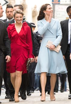 The Duchess Of Cambridge Visits Luxembourg