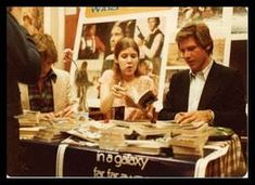 Carrie Fisher, Mark Hamill, and Harrison Ford at a Star Wars fan convention (photo taken in Star Wars Pictures, Bts Pictures, Celebrity Pictures, Starwars, Walt Disney, Game Of Thrones, Han And Leia, Mundo Comic, Original Trilogy
