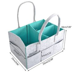 Diaper Caddy by My GOGO Baby  Nursery Diaper Tote Bag  Large Portable Car Travel Organizer  Boy Girl Diaper Storage Bin for Changing Table  Baby Shower Gift Basket  Newborn Registry Must Haves -- Continue to the product at the image link.-It is an affiliate link to Amazon. #DiaperBags