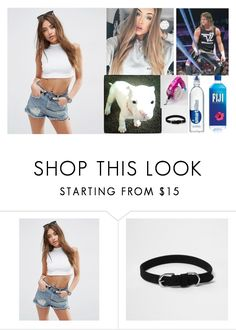 """""""Walking Rocky with Dolph. 😈Kalani😈"""" by the-walking-dead-and-wwe-lover ❤ liked on Polyvore featuring ASOS and River Island"""