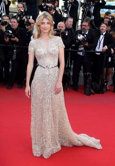 Melanie Laurent in Zuhair Murad Couture. See all the best looks from the 2015 Cannes Film Festival.