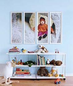 Photo Art in Kids' Rooms