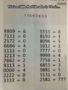 Try To Solve It... got it about 30secs how long does it take you?