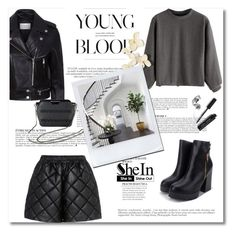 """SheIn 8"" by emina-turic ❤ liked on Polyvore featuring STELLA McCARTNEY, Sandro, Anja, Bobbi Brown Cosmetics and vintage"