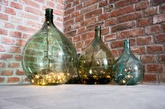 Old carboy, demijhon blown glass ~☆~