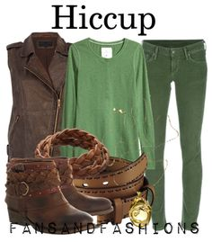 Hiccup Inspired Outfit - from DreamWork's How To Train Your Dragon
