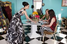 Style HQ: Inside Alice   Olivia's Whimsical Office