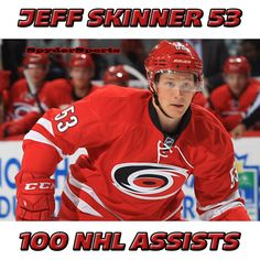 Jeff Skinner Reaches 100 NHL Assists | Spyder Sports Lounge