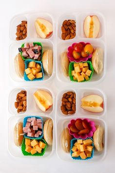 Tons of great school lunch ideas | packed in @EasyLunchboxes via http://whatlisacooks.com