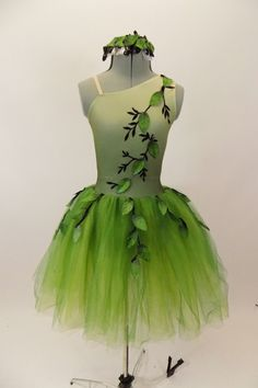 A Mid-Summer Night's Dream Green Ballet Dress, For Sale – Once More From The Top