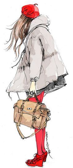 shu84: Xunxun Missy Fashion Illustrations
