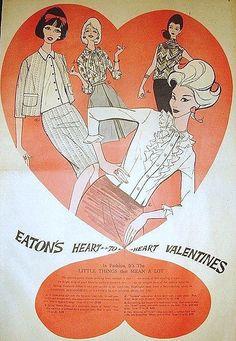 Vintage Valentine Ad
