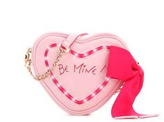 Betsey Johnson KITSCH BE MINE CANDY HEART LIGHT UP Crossbody purse bag BJ56095H #BetseyJohnson #MessengerCrossBody