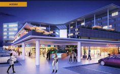 Vertice Mall & Offices Recreio Lançamento imobiliário com venda de salas comerciais e lojas no Recreio dos Bandeirantes.  www.portoimoveisrio.com.br