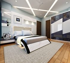 Here you will find photos of interior design ideas. Get inspired! Bedroom Cupboard Designs, Wardrobe Design Bedroom, Luxury Bedroom Design, Bedroom Bed Design, Bedroom Furniture Design, Bedroom Decor, Pop Ceiling Design, Bedroom False Ceiling Design, Bedroom Ceiling