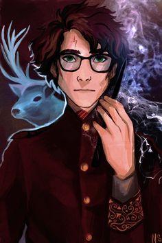 Harry by nastjastark on @DeviantArt