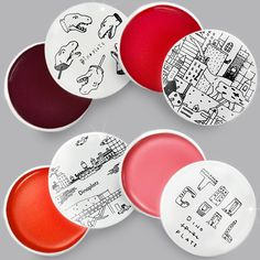 Dinoplatz - Lip Balm Love the simple illustrations