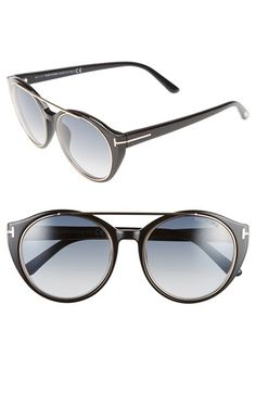 53edfa0538 Tom Ford  Joan  52mm Round Sunglasses available at  Nordstrom Italian  Sunglasses