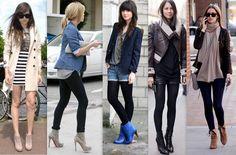 As Anklee Boots são ideais para quem não gosta de botas de cano longo - Fonte: Blog Meus Sonhos de Consumo